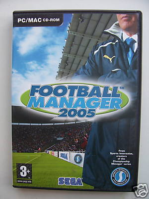 Football Manager 2005 Pc Game